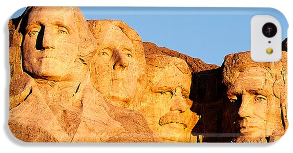 Mount Rushmore IPhone 5c Case by Todd Klassy