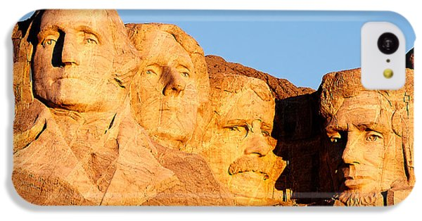 Lincoln Memorial iPhone 5c Case - Mount Rushmore by Todd Klassy