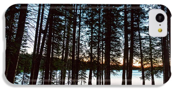 IPhone 5c Case featuring the photograph Mountain Forest Lake by James BO Insogna