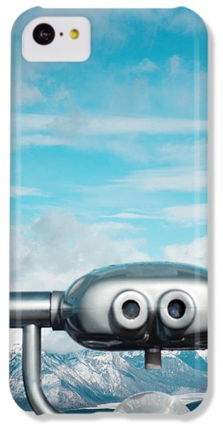Landscapes iPhone 5c Case - Mountaintop View by Kim Fearheiley