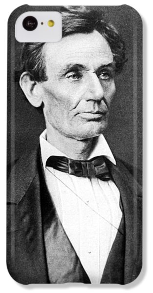 Abraham Lincoln iPhone 5c Case - Mr. Lincoln by War Is Hell Store