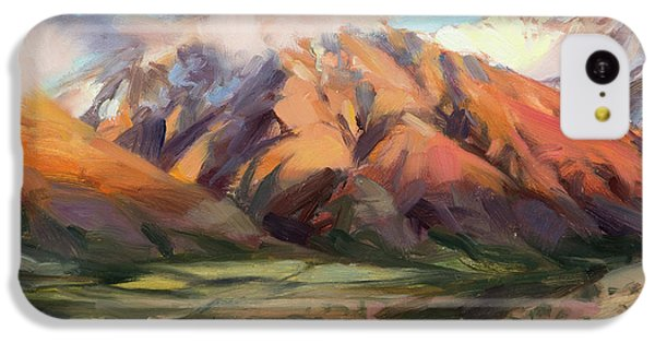 Mount Rushmore iPhone 5c Case - Mt Nebo Range by Steve Henderson