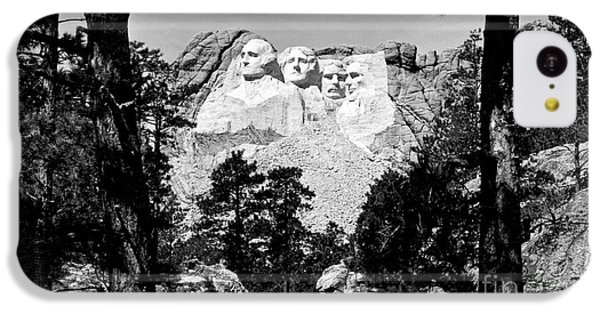Mt Rushmore IPhone 5c Case by American School