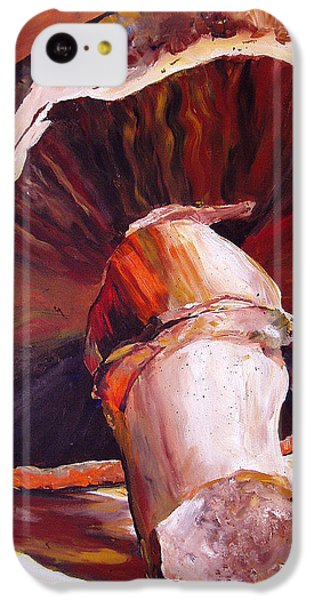 Mushroom Still Life IPhone 5c Case by Toni Grote