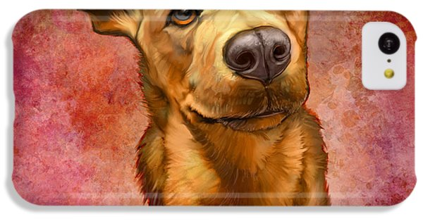 Portraits iPhone 5c Case - My Buddy by Sean ODaniels