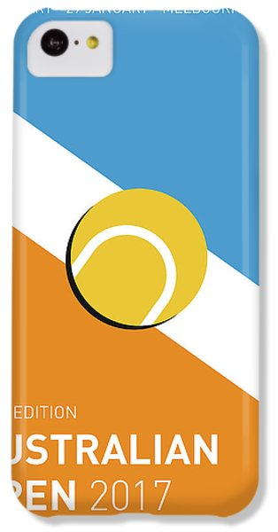 My Grand Slam 01 Australian Open 2017 Minimal Poster IPhone 5c Case by Chungkong Art