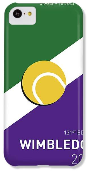 My Grand Slam 03 Wimbeldon Open 2017 Minimal Poster IPhone 5c Case