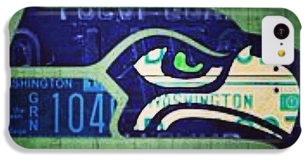 Sport iPhone 5c Case - My Pick For Game 1.  #seattle by Design Turnpike