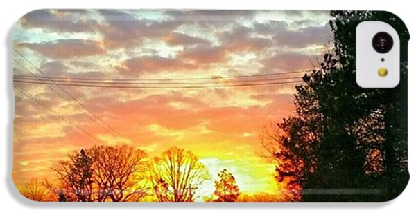 iPhone 5c Case - My View Of The Sunrise This by Robin Mead