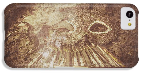 IPhone 5c Case featuring the photograph Mysterious Vintage Masquerade by Jorgo Photography - Wall Art Gallery