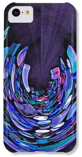 IPhone 5c Case featuring the photograph Mystery In Blue And Purple by Nareeta Martin