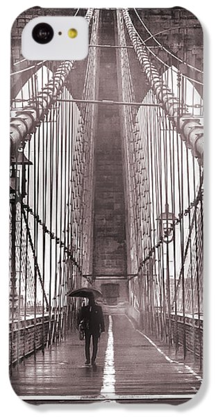 Mystery Man Of Brooklyn IPhone 5c Case by Az Jackson