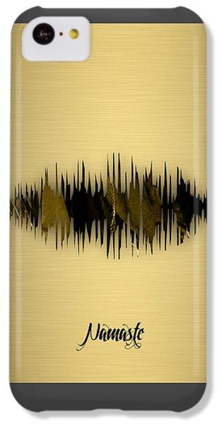 Namaste Spoken Soundwave IPhone 5c Case