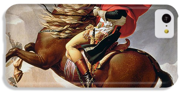 Mount Rushmore iPhone 5c Case - Napoleon Crossing The Alps by Jacques Louis David