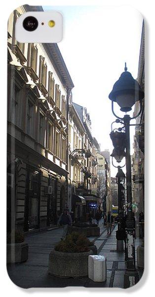 Sunny iPhone 5c Case - Narrow Street by Anamarija Marinovic