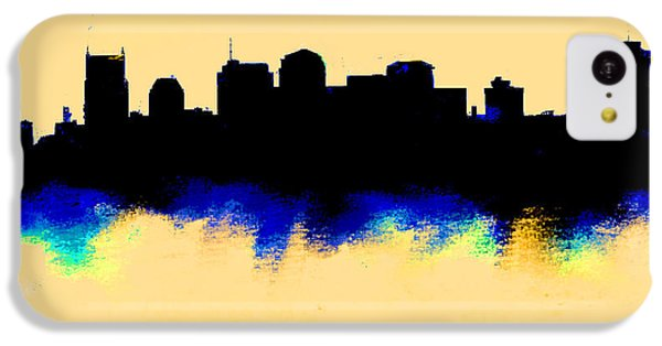 Nashville  Skyline  IPhone 5c Case by Enki Art
