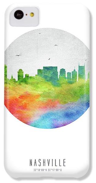 Nashville Skyline Ustnna20 IPhone 5c Case by Aged Pixel