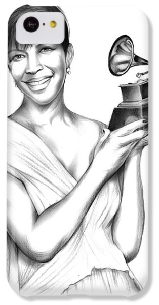 Rhythm And Blues iPhone 5c Case - Natalie Cole by Greg Joens