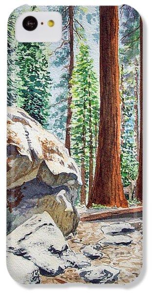 National Park Sequoia IPhone 5c Case
