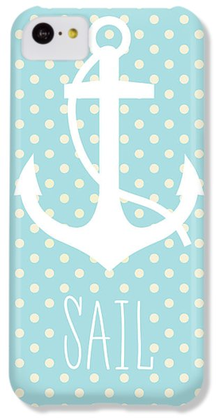 Nautical Anchor Art Print IPhone 5c Case by Taylan Apukovska