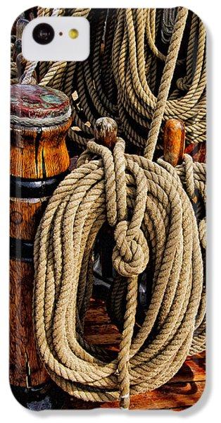 Nautical Knots 17 Oil IPhone 5c Case