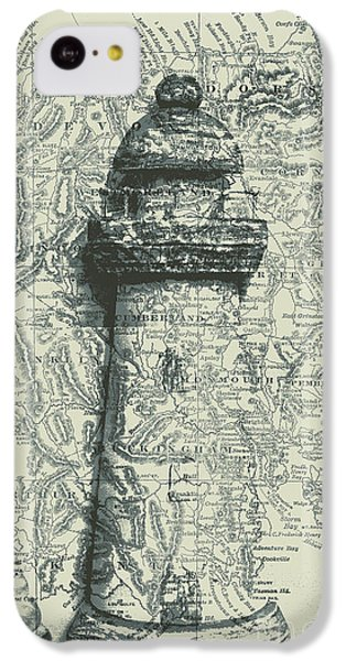Navigation iPhone 5c Case - Nautical Way by Jorgo Photography - Wall Art Gallery