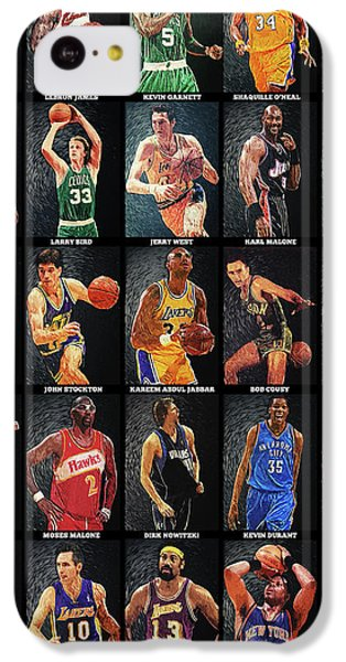 Nba Legends IPhone 5c Case
