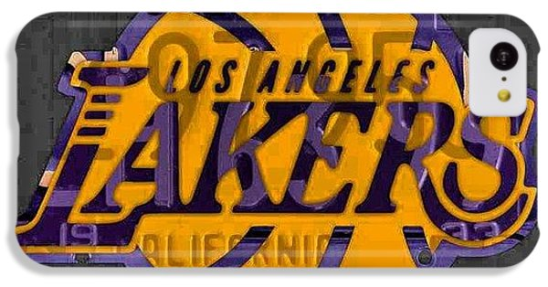 Sport iPhone 5c Case - Nba Series Coming Along!  #lakers by Design Turnpike