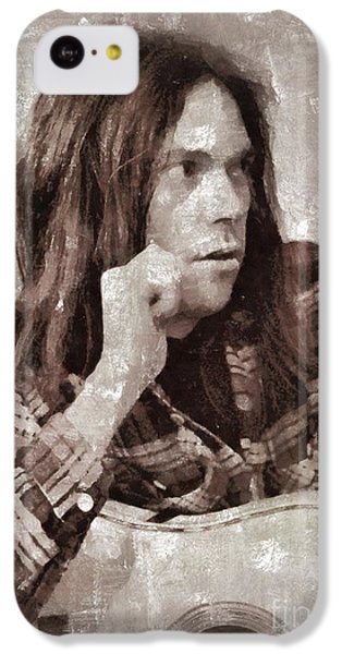 Neil Young By Mary Bassett IPhone 5c Case