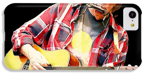 Neil Young IPhone 5c Case by John Malone