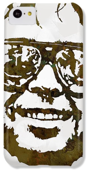 Neil Young Pop  Stylised Art Sketch Poster IPhone 5c Case by Kim Wang