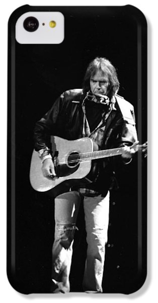 Neil Young IPhone 5c Case by Wayne Doyle