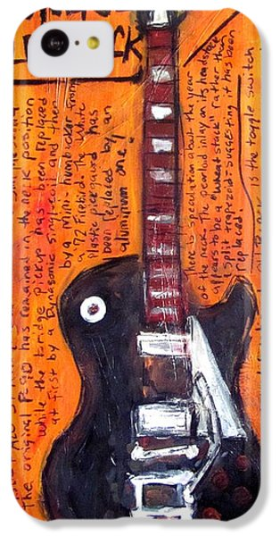 Neil Young's Old Black IPhone 5c Case by Karl Haglund