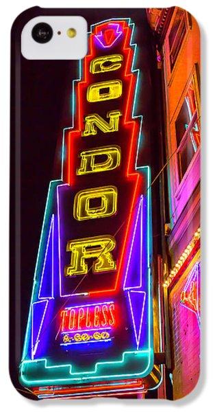 Neon Condor San Francisco IPhone 5c Case by Garry Gay