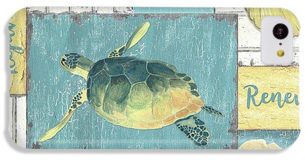 Seahorse iPhone 5c Case - Neptune 1 by Debbie DeWitt