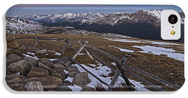 Never Summer Range IPhone 5c Case by Gary Lengyel