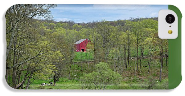 IPhone 5c Case featuring the photograph New England Spring Pasture by Bill Wakeley