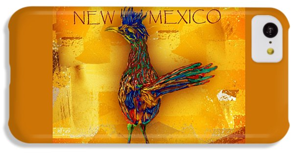 Roadrunner iPhone 5c Case - New Mexico Roadrunner by Barbara Chichester