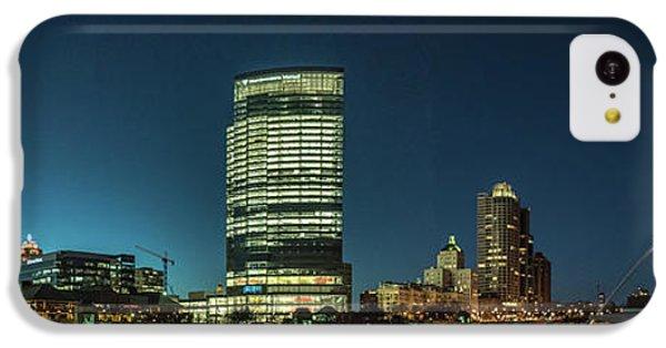 IPhone 5c Case featuring the photograph New Milwaukee Skyline by Randy Scherkenbach