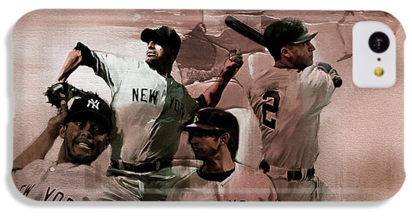 New York Baseball  IPhone 5c Case by Gull G