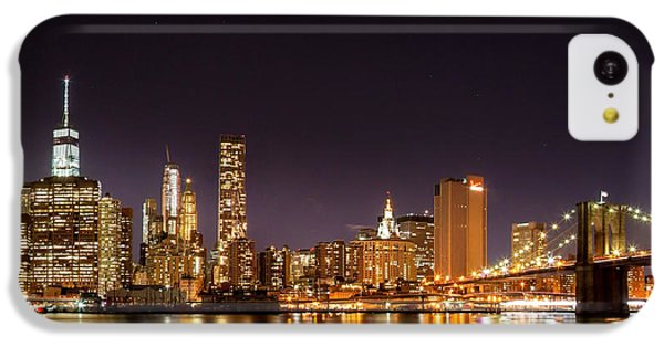 New York City Lights At Night IPhone 5c Case by Az Jackson