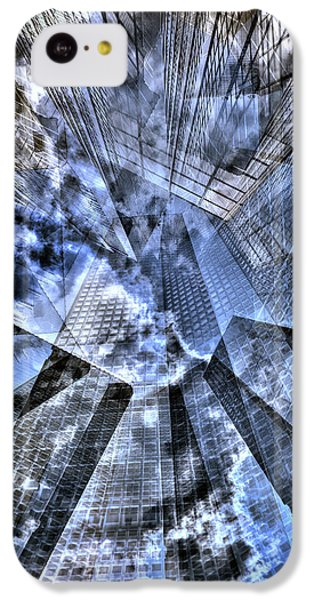 New York Iris Collage IPhone 5c Case