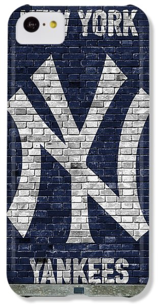 New York Yankees Brick Wall IPhone 5c Case