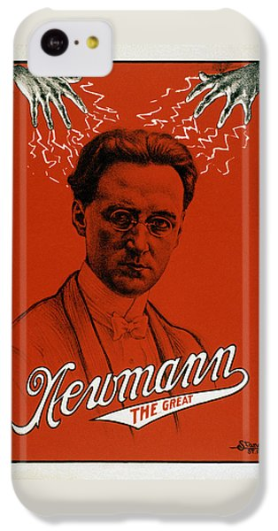 Newmann The Great - Vintage Magic IPhone 5c Case by War Is Hell Store