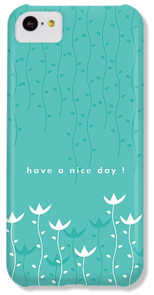 Flowers iPhone 5c Case - Nice Day by Kathleen Wong