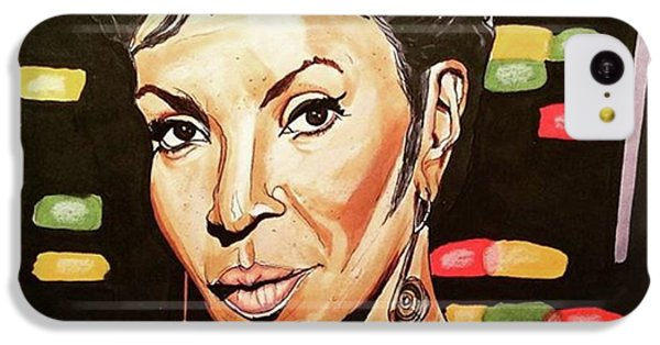 iPhone 5c Case - Uhura  by Russell Boyle