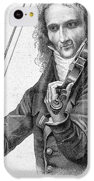 Violin iPhone 5c Case - Nicolo Paganini by Granger