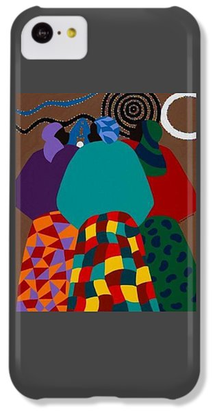 iPhone 5c Case - Nigerian Women by Synthia SAINT JAMES