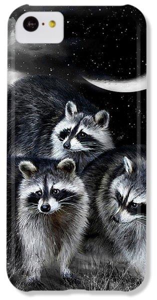 Night Bandits IPhone 5c Case by Carol Cavalaris