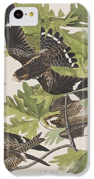 Night Hawk IPhone 5c Case by John James Audubon
